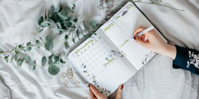 What is a Virtual Assistant-Diary To Do List with Eucalyptus