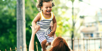 Quick Health Tips for Busy Mums Mother and Son Playing