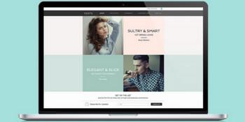 Digital Solutions For New Businesses Feminine Website Design